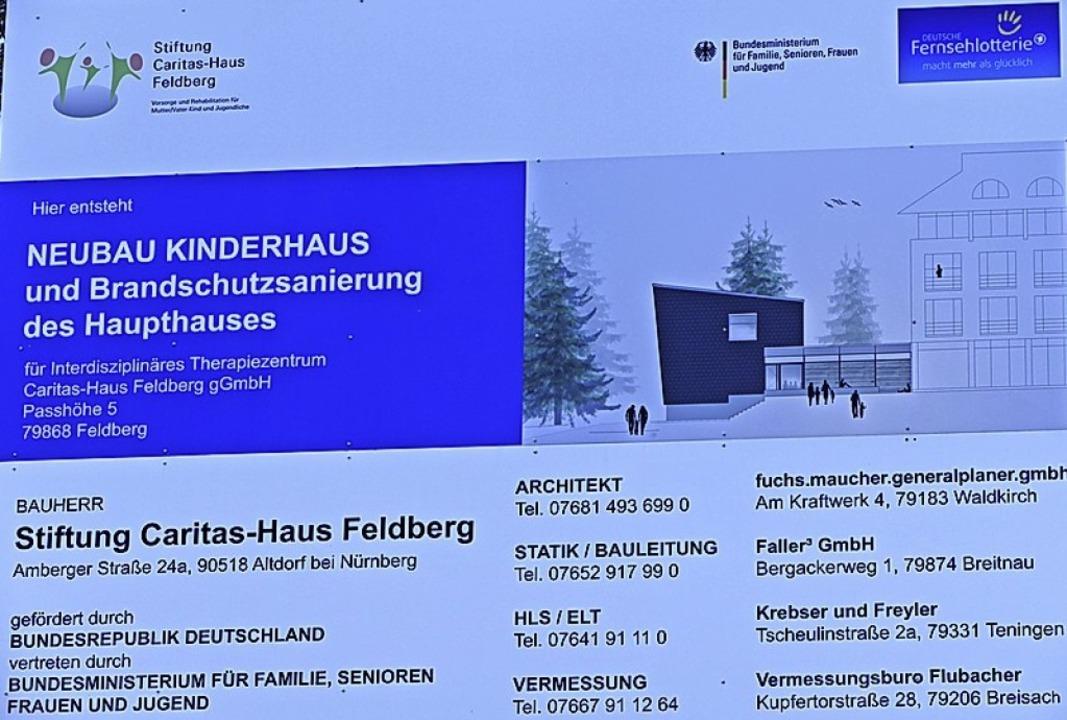 Das neue Kinderhaus wird im  Juli fertig.