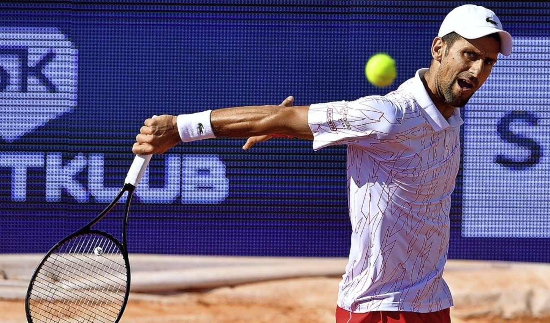 Spielt auch mit der eigenen Gesundheit: Novak Djokovic    Foto: ANDREJ ISAKOVIC (AFP)