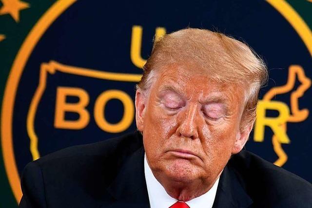 Twitter verbirgt erneut Trump-Tweet hinter Warnhinweis