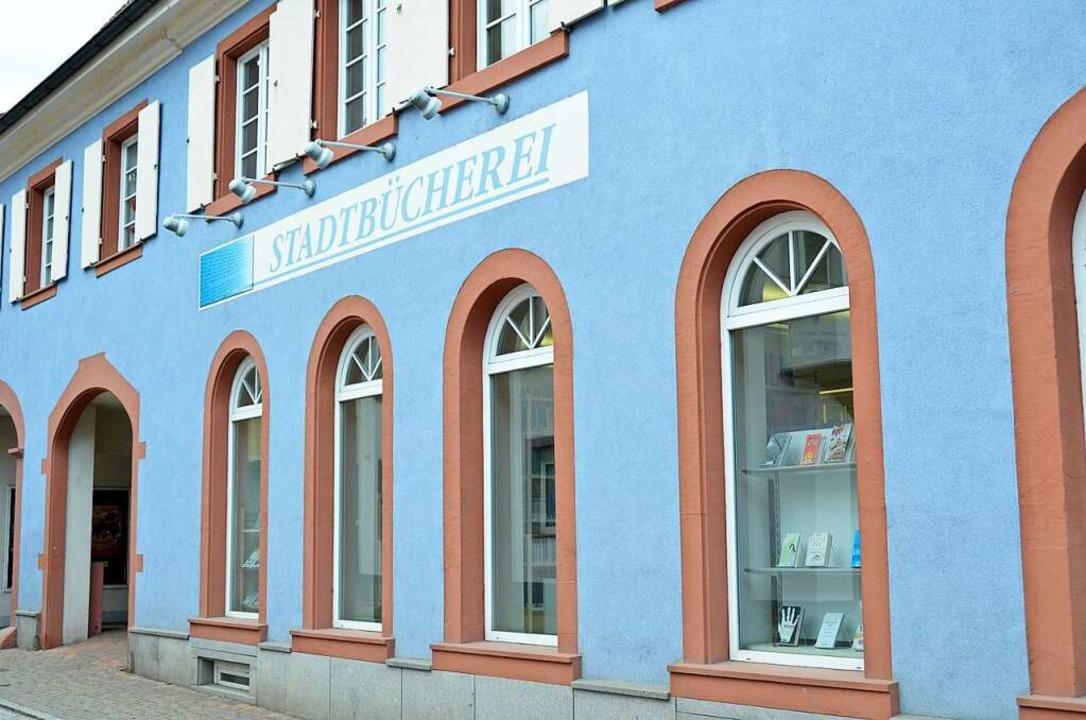 Wieder geöffnet: die Kanderner Stadtbücherei  | Foto: Moritz Lehmann