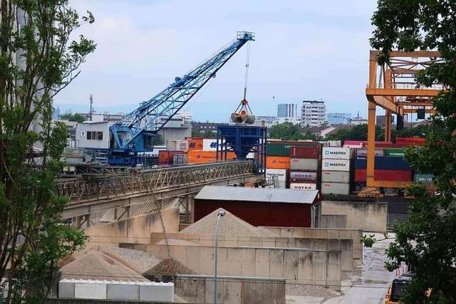 Lärmschutz im Rheinhafen reicht nicht aus