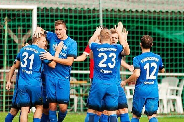 SV Niederschopfheim feiert Bezirksligameisterschaft beim Public Viewing