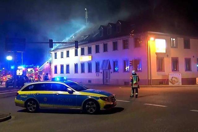 Ursache für Dachstuhlbrand im Gasthaus Krone steht fest