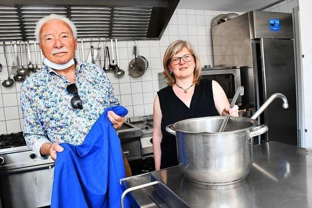 Günther Rosskopf hört bei der Lörracher Suppenküche auf