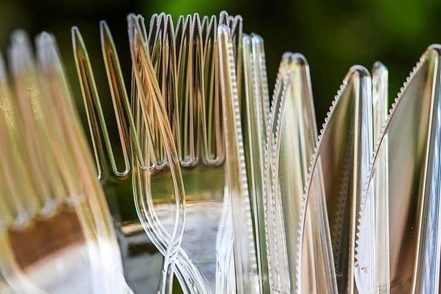 Verbot für Einweg-Plastik kommt Mitte 2021