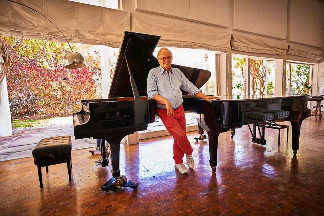 Justus Frantz als Pianist  | Foto: Justus Frantz