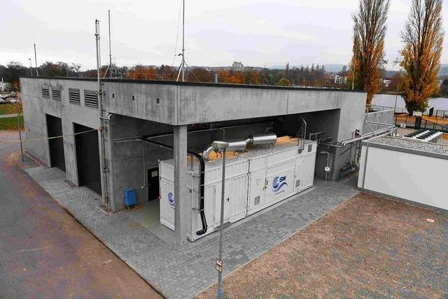 Power-to-Gas-Anlage in Wyhlen nach Störung stillgelegt