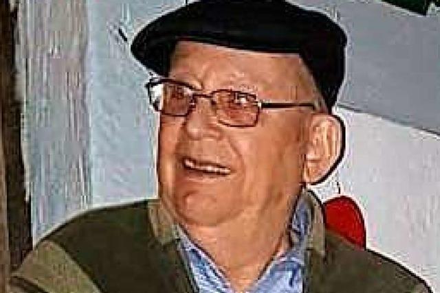 Die Sportfreunde in Schliengen trauern um ihr Ehrenmitglied Fritz Meier