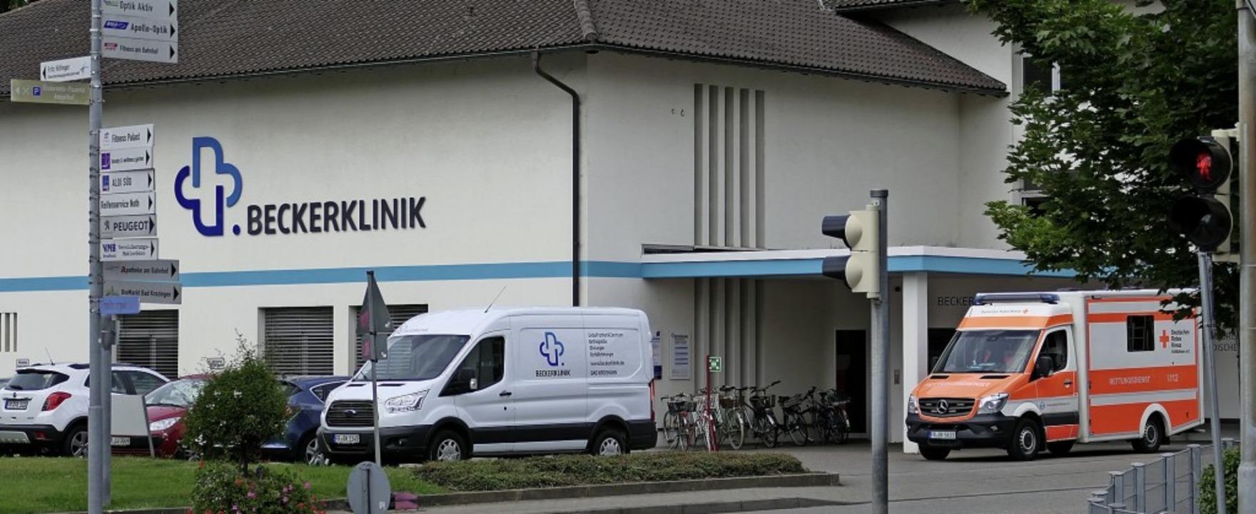 Die Beckerklinik in Bad Krozingen schränkt ihre Notfallversorgung ab Juli ein.   | Foto: Hans-Peter Müller