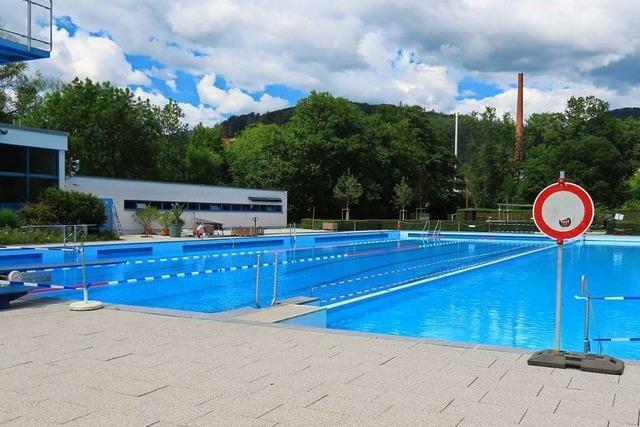 Das Freibad in Wehr öffnet am 1. Juli – Ticket-Verkauf ab Freitag