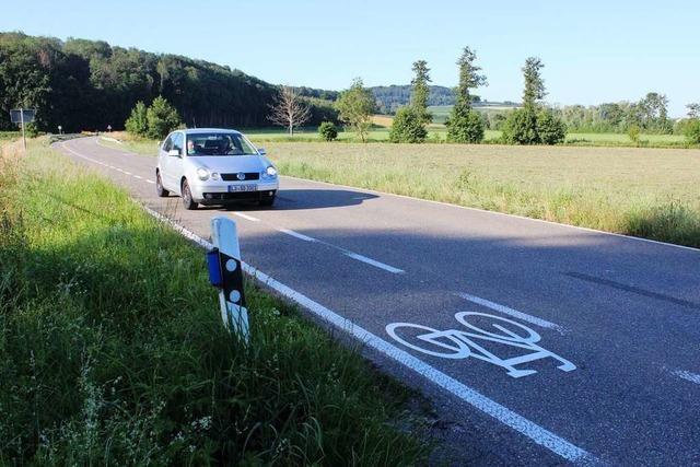 Die Meinungen über Schutzstreifen für Radfahrer sind verschieden