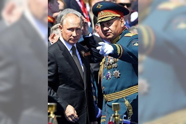Putins Parade im Zeichen der Seuche