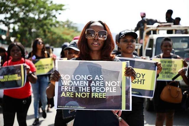 Nigeria erlebt im Corona-Lockdown einen Anstieg sexueller Gewalt gegen Frauen