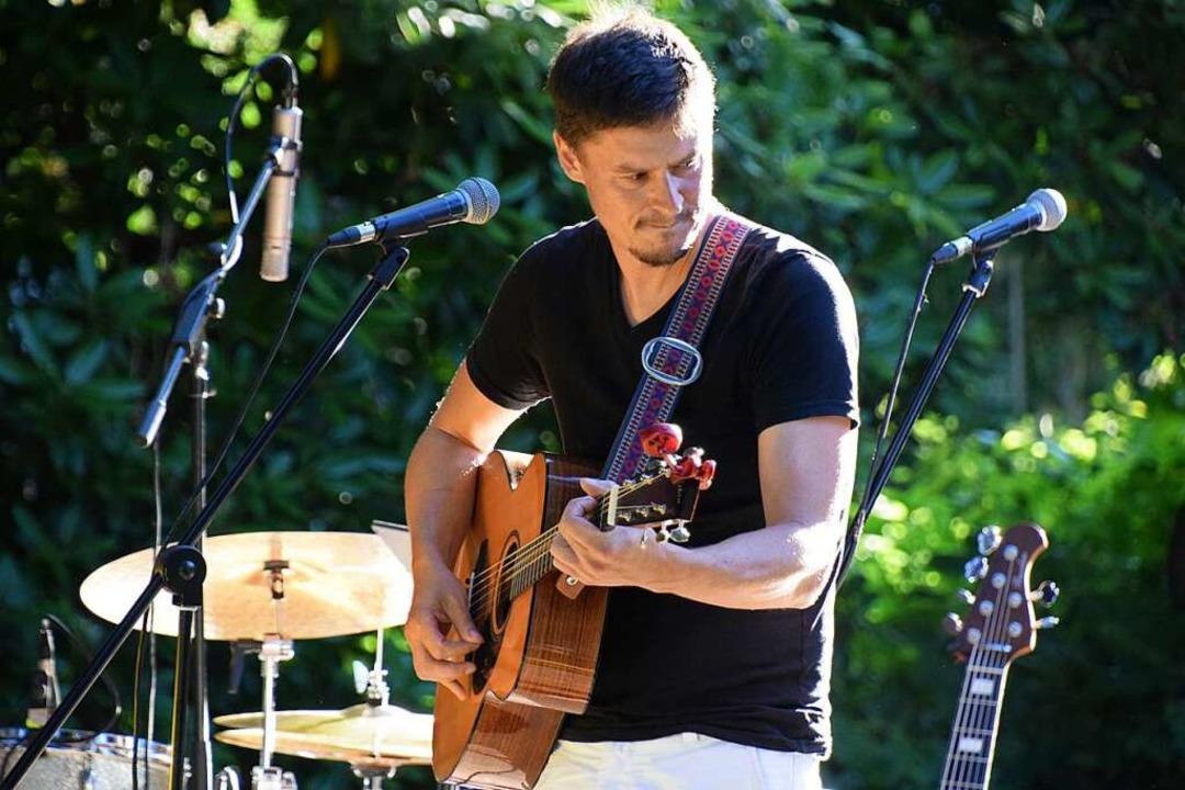 Ben Meech beim von ihm organisierten &... auf dem Rosenhof im Kleinen Wiesental  | Foto: Privat