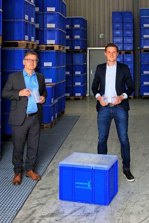 Bernd Bittighofer (links), der kaufmän...rtefallregelungen für ihr Unternehmen.  | Foto: privat