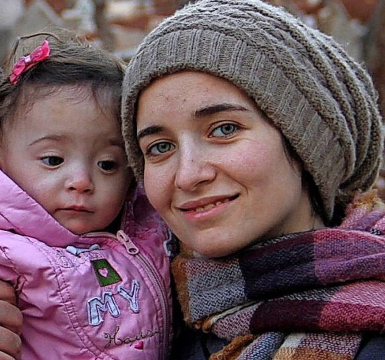 Regisseurin Waad al-Kateab,  Sama    Foto: - (dpa)