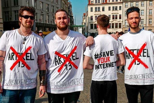 Der Jugendprotest gegen die EU-Urheberrechtsreform hat die Politik überrascht