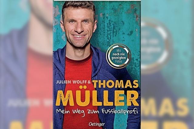 BUCHTIPP: Thomas Müller ganz nah