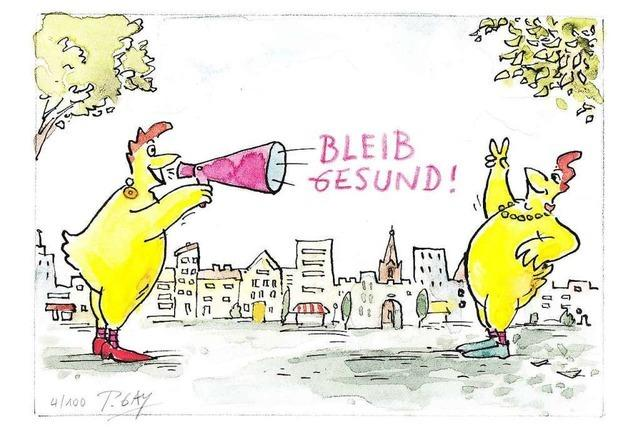 Der Freiburger Cartoonist Peter Gaymann wird 70