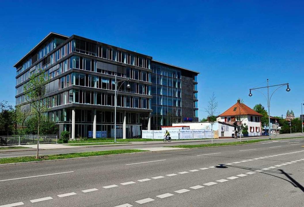 Das Interchalet-Gebäude in Freiburg  | Foto: Thomas Kunz