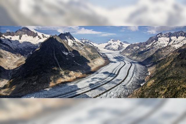 Schweizer Alpen am stärksten von Gletscherschwund betroffen