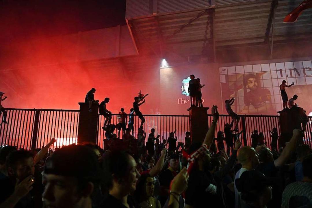 Jubel in Liverpool  | Foto: PAUL ELLIS (AFP)