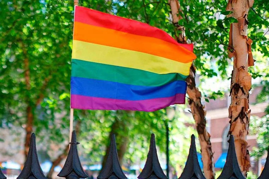 In Russland ist Homophobie weit verbreitet.  | Foto: Dimitrios Kambouris (AFP)