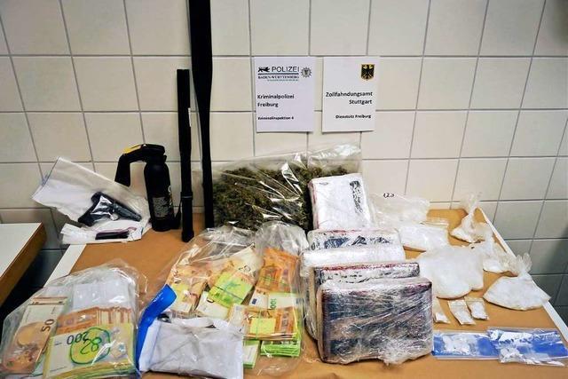 Polizei Freiburg: Mutmaßliche Koks-Dealer waren absolute Profis