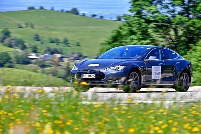 E-Autos liefern sich ein 24-Stunden-Rennen auf den Schauinsland