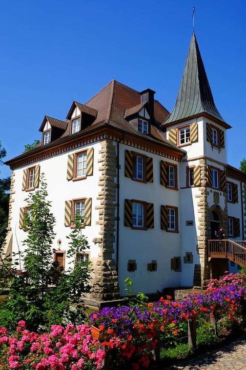Amtssitz von Renkert ist das Wasserschloss Entenstein.  | Foto: Martin Pfefferle