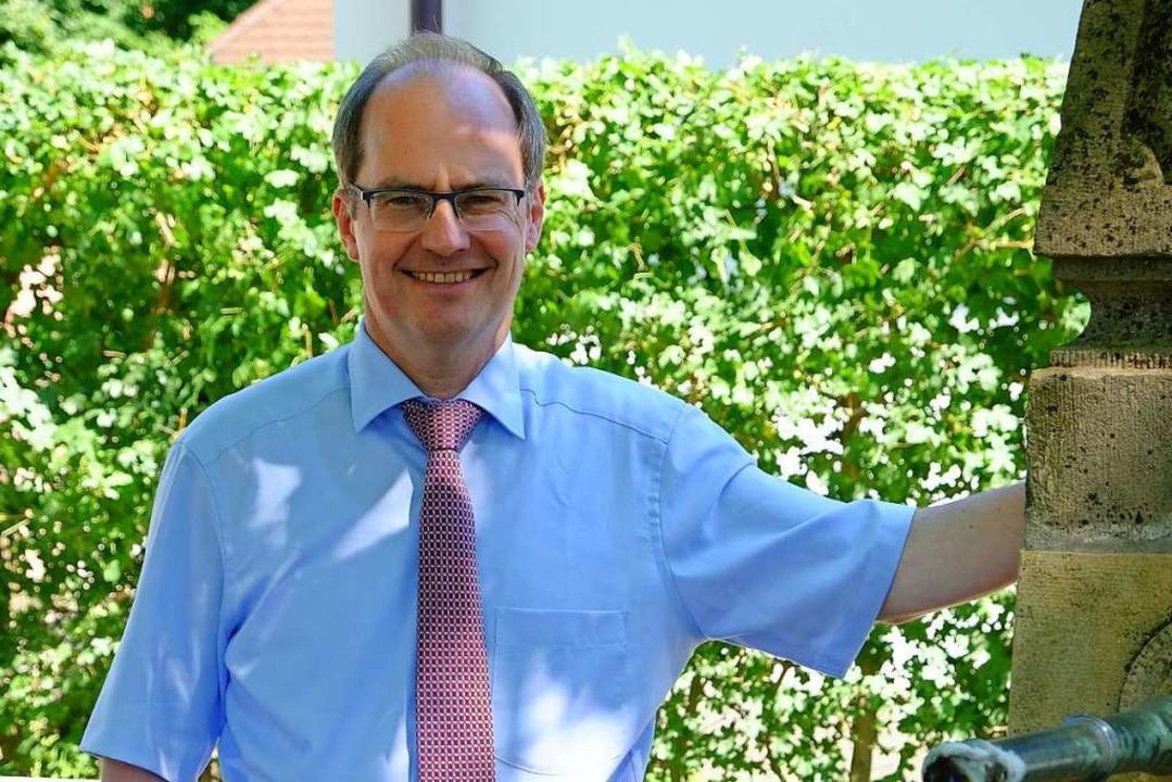 Schliengens Bürgermeister Christian Renkert  | Foto: Martin Pfefferle