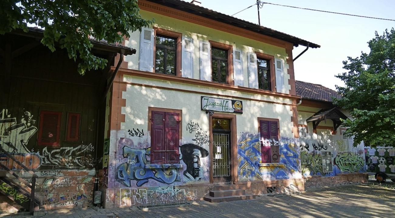Das Wehrer Jugendhaus im alten Bahnhof von Öflingen  | Foto: Michael Gottstein