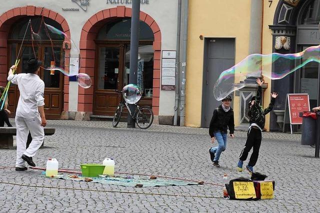 Gefährliche Seifenblasen werden in Freiburg zum Politikum