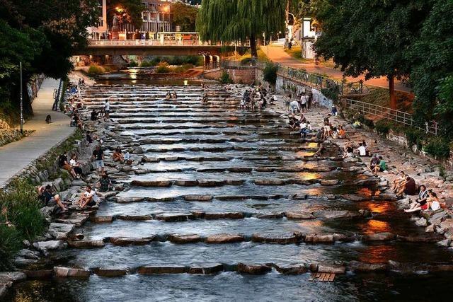 Freiburgs Hotspots werden an heißen Tagen und abends wieder voller