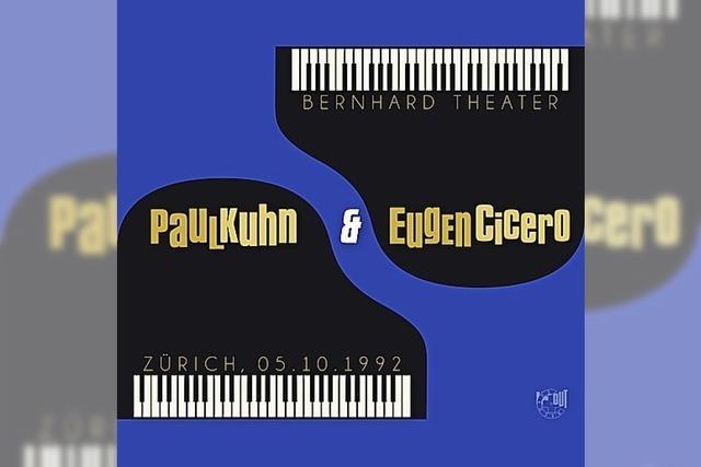 JAZZ: Zwei Pianisten, eine Liebe