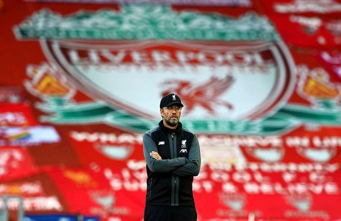 Der FC Liverpool und Jürgen Klopp – das passt.    Foto: Shaun Botterill, Nmc Pool (dpa)