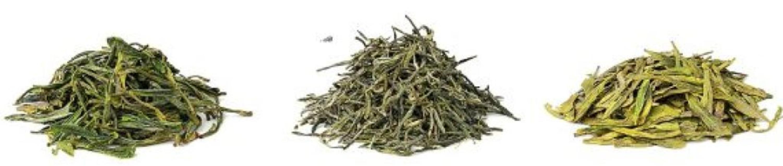 Die Vielfalt bei grünem Tee ist riesig:  von Huang Shan Mao Feng (links)...  | Foto: Anna Kucherova - stock.adobe.com