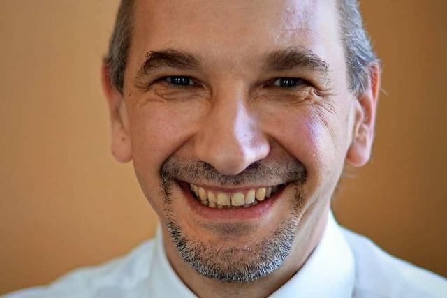 Buchenbachs Bürgermeister Ralf Kaiser glaubt an den Falkensteintunnel