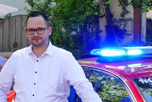 Schopfheim hat einen neuen Feuerwehrkommandanten