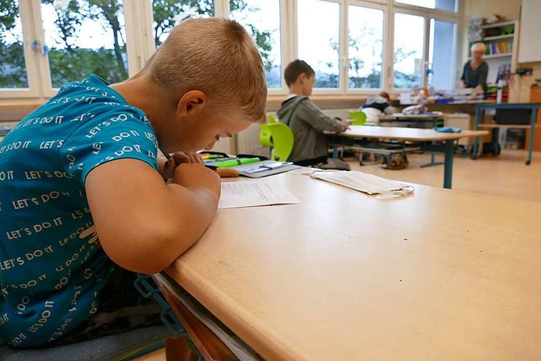 Ab Montag werden sich die derzeit halb...schulklasse der  Hebelschule Neustadt.  | Foto: Susanne Filz