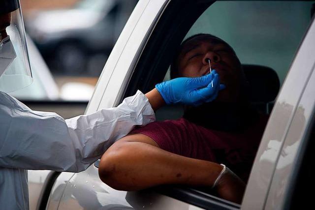 Das Coronavirus breitet sich in den USA wieder rasant aus