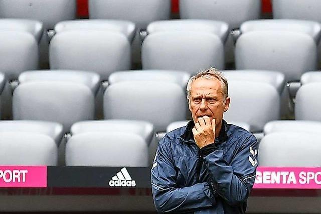 SC-Trainer Streich: