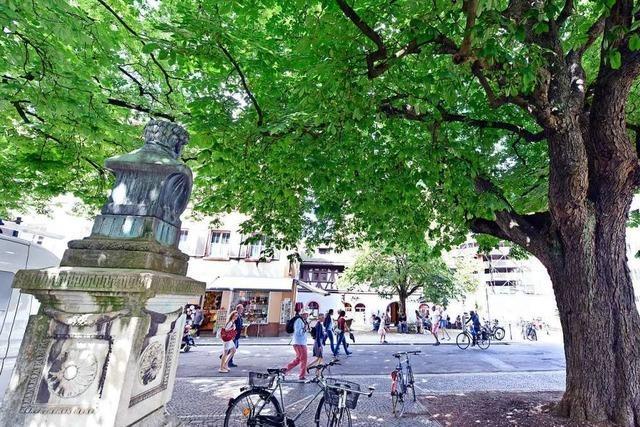 Alban-Stolz-Denkmal in der Freiburger Altstadt soll nun doch entfernt werden
