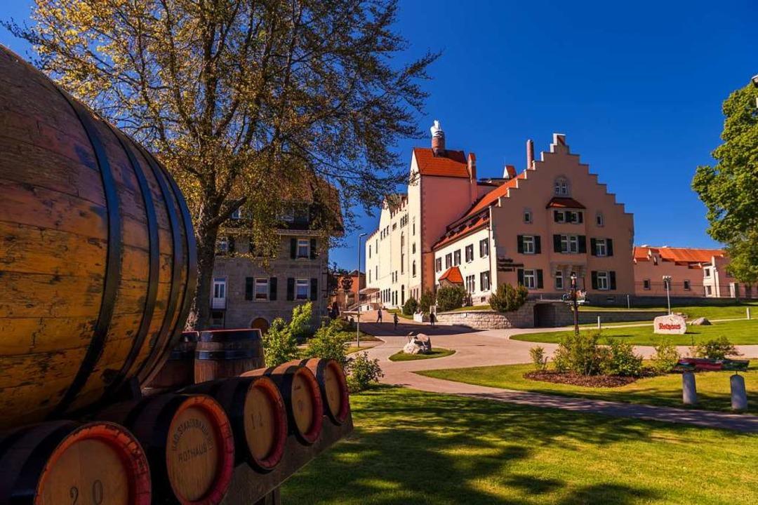 Die heutige Brauerei Rothaus.  | Foto: Rothaus