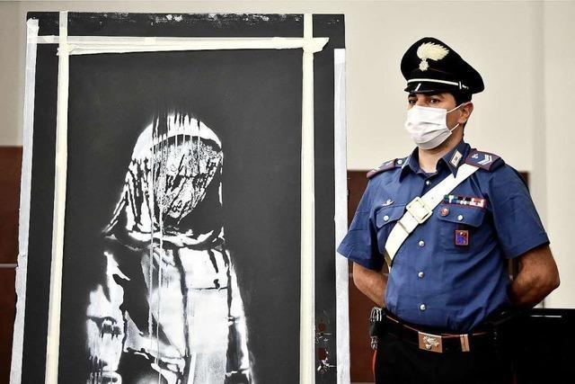 Polizei nimmt 6 Verdächtige wegen Diebstahls von Banksy-Gemälde fest
