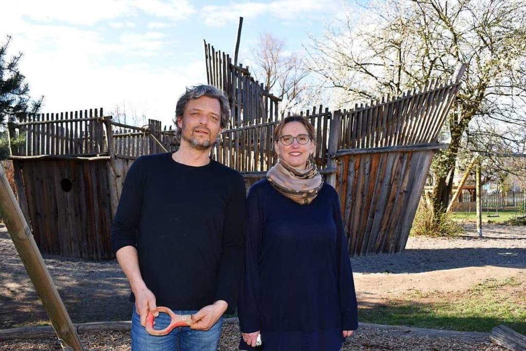 Falk Miersch und Iris Teulière sind fü...er Kaltenbach-Stiftung verantwortlich.  | Foto: Thomas Loisl Mink