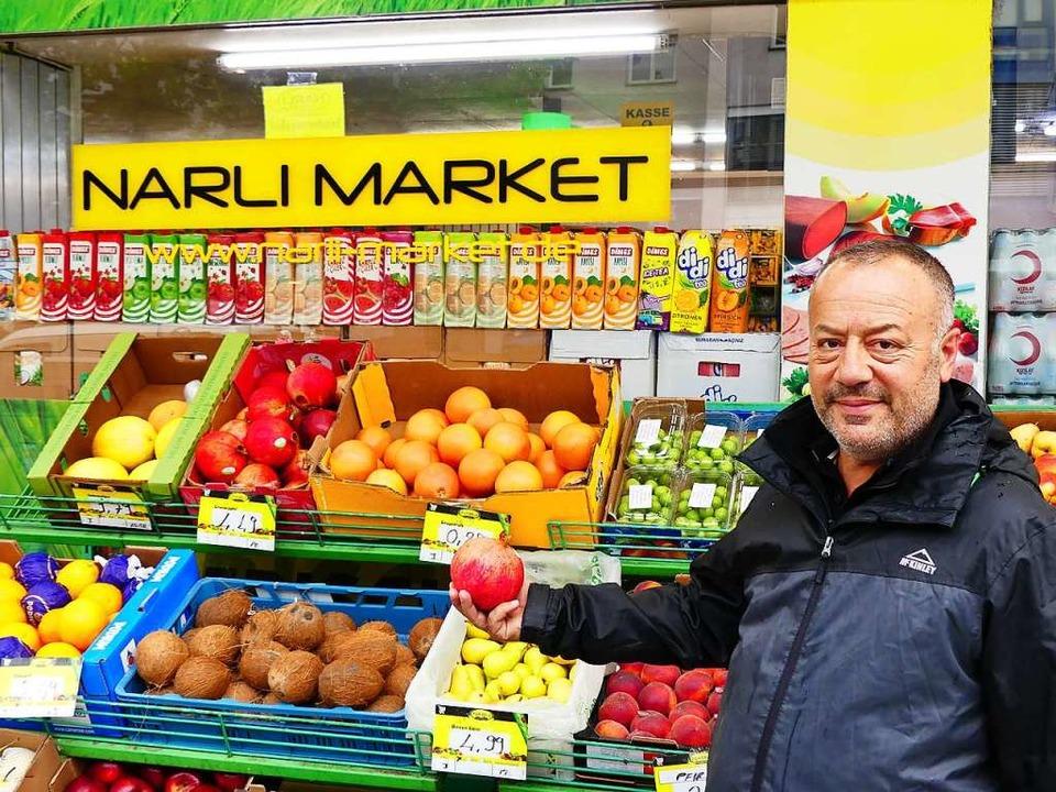 Ali Riza Kisikyol führt das Geschäft seit 20 Jahren.  | Foto: Geraldine Friedrich