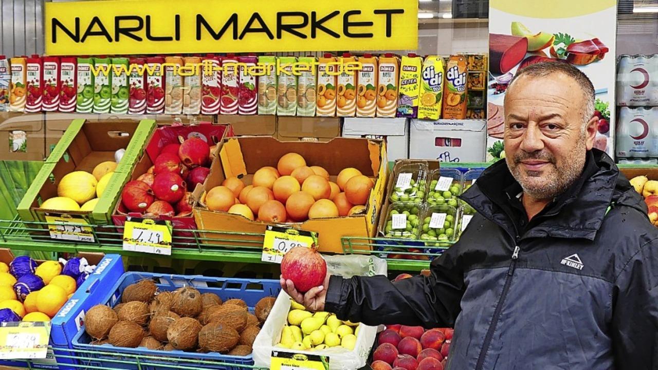 Erfolgsgeschichte: Ali Riza Kisikyol und sein Narli Market  | Foto: Geraldine Friedrich