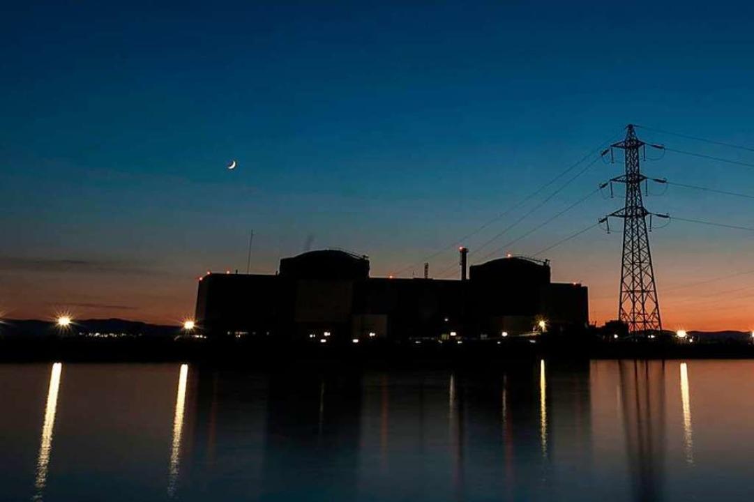 Das Kernkraftwerk in Fessenheim mit se...letzte (?) Notabschaltung gegeben hat.  | Foto: SEBASTIEN BOZON (AFP)