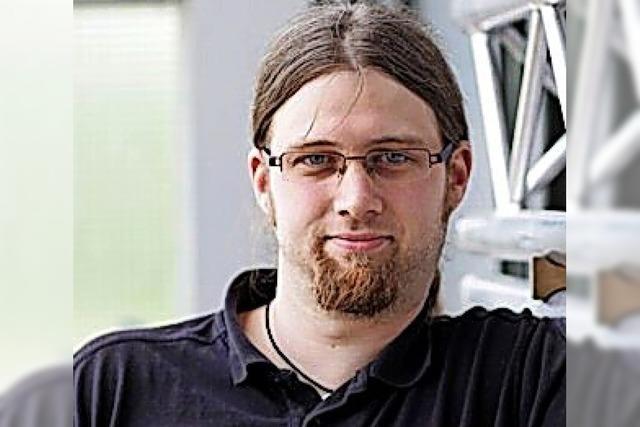Veranstaltungstechniker Krishan Kaiser aus Bernau ist von der Corona-Krise betroffen